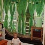 cute, easy kids curtains