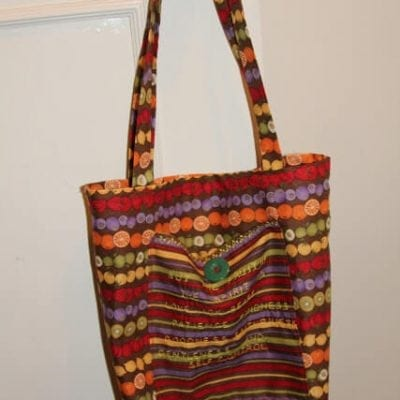 Fabric Shopping Bag – tutorial