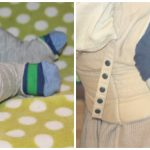 Baby boy leg warmers-tutorial