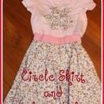 Circle Skirt and shirt