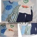 Boys Summer PJ's