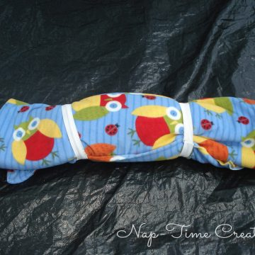 Kids sleeping bag tutorial