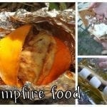 Campfire FOOD! and Tasty Tuesday party