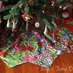 Christmas Tree Skirt Sewing Pattern- Part 2 (putting it all together)