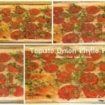 Tomato-Onion Phyllo Pizza and Tasty Tuesday Party