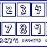 Printable: Number Game