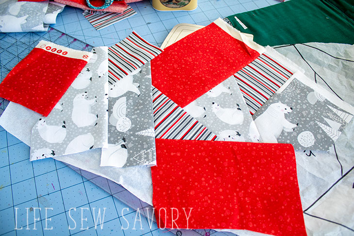 christmas tree skirt quilt pattern
