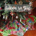 Christmas Tree Skirt Pattern and tutorial from Life Sew Savory