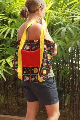 Tote Bag Tutorial {back to school!}