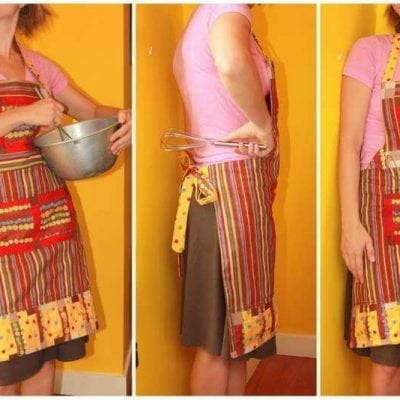SYTYC: Scraps Only: Scrappy Apron-Pattern