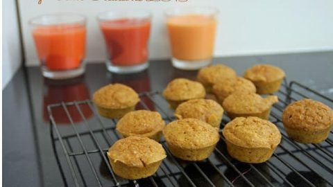 healthy and easy pumpkin muffins
