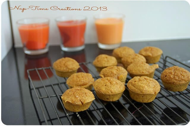 easy healthy pumpkin muffins