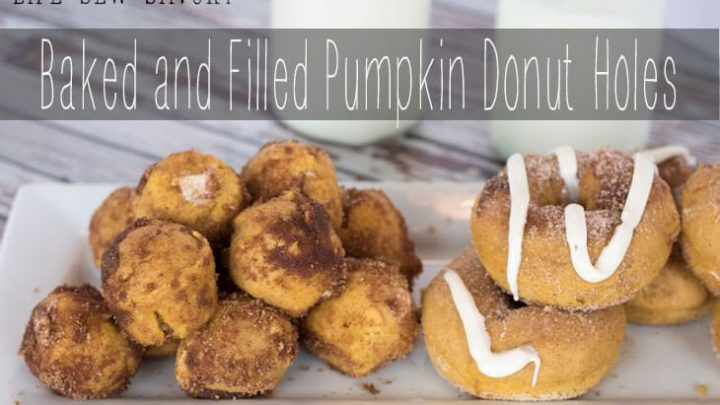 Filled Pumpkin Doughnuts