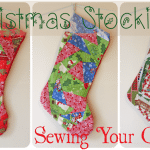 Homemade Christmas Stockings (my Paper Piecing Stocking Debut!)