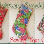 Homemade Christmas Stockings (my Paper Piecing Stocking Debut!)