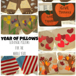 a year of pillows: seasonal pillow cases PLUS pocket pillow basics