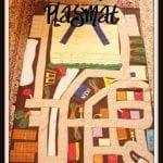 Flashback Friday:Car Playmat {felt playmat}