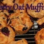 Berry Oatmeal Muffins and Tasty Tuesday Party