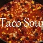 Taco Soup and Tasty Tuesday Party