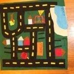 simple car mat gift