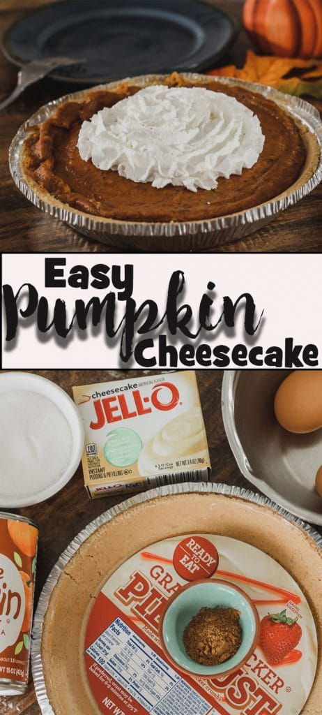 easy pumpkin cheesecake simple fall dessert from Life Sew Savory