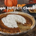 cheater pumpkin cheesecake recipe