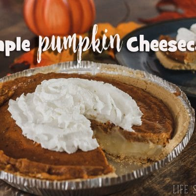 {cheater} pumpkin cheese cake