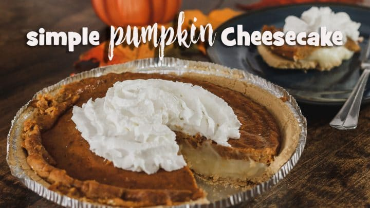Simple Pumpkin Cheesecake Pie Recipe
