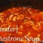 Minestrone Soup and Tasty Tuesday party