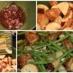 Thyme and Garlic Potatoes and Tasty Tuesday Party