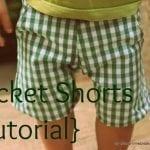 Pocket Shorts {tutorial}