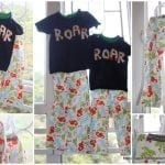 My Pajama Obsession! Resizing a pants pattern {tutorial}
