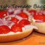 Fresh Tomato Bagels and Tasty Tuesday Party