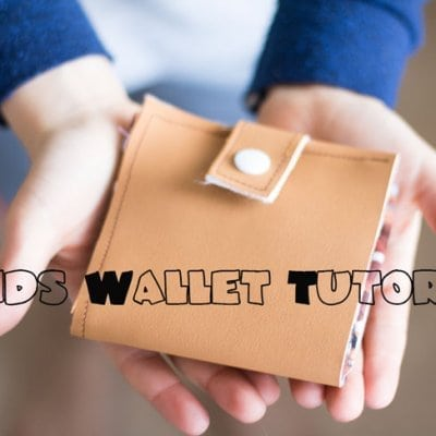 DIY Wallets for kids