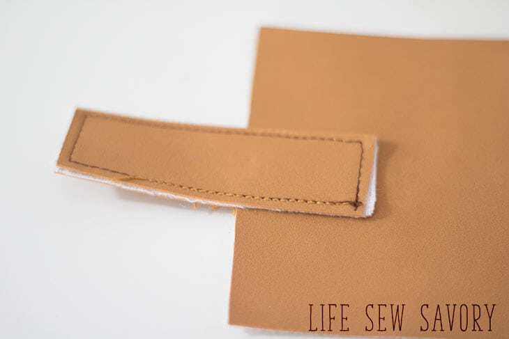 sewing a kids wallet