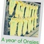 A Year of Onesies {tutorial}