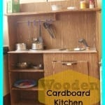 Cardboard Kitchen-for my boys