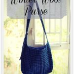 Winter Wool Purse {Tutorial}