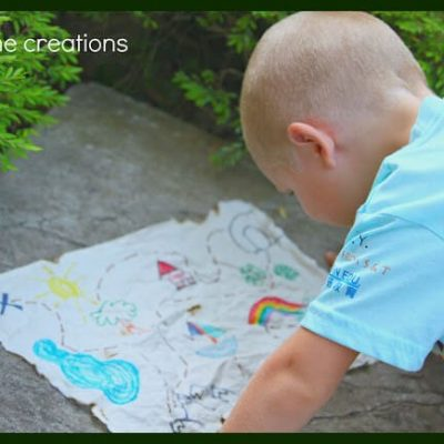Easy Treasure Map for kids