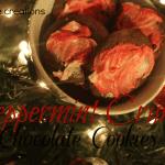 Peppermint Crunch Chocolate Cookies {Recipe}