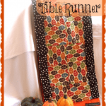 Thanksgiving Week: {New Table Runner Tutorial} & Table Decor