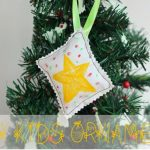 DIY Simple Ornament {kids craft} Delightful December