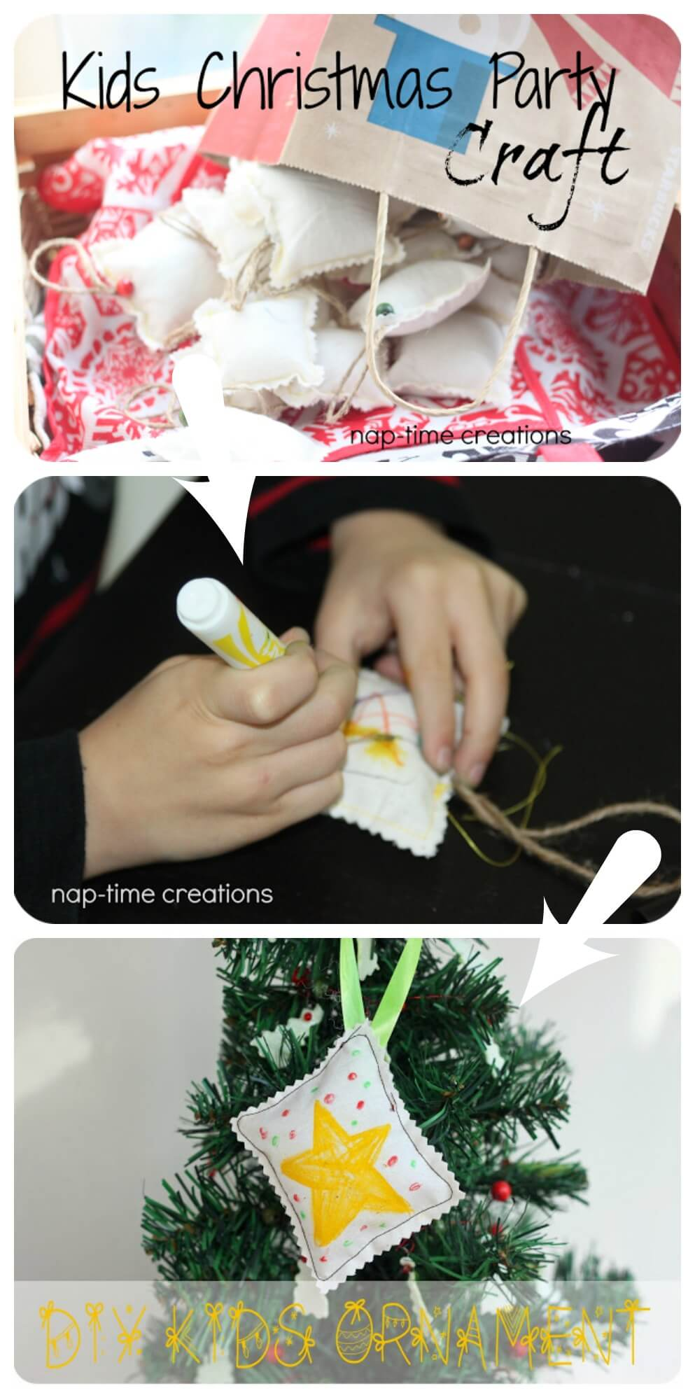 kids-ornament craft and activity from Nap-Time Creations
