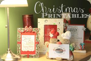Christmas Printables: Delightful December