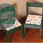 IKEA Kid's Chair Makeover! {A little DIY Project!}