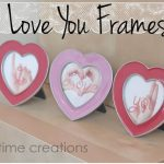 I Love You Photos {easy valentines card idea}