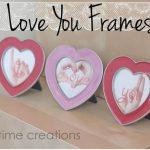 I Love You Photos {easy valentines card idea}
