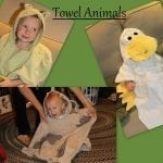 Flashback Friday: Towel Animal {Sewing Tutorial}