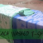 bleached t-shirt project