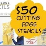 More Than You Ever Wanted to Know… {about me} & Cutting Edge Stencil Giveaway! {closed}